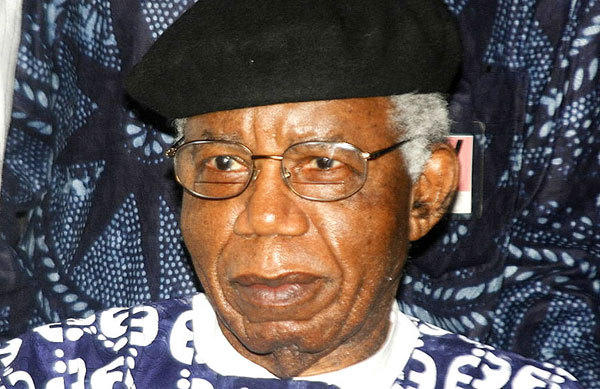 "Achebe made his name more than 50 years ago with his novel ""Things Fall Apart,"" about his Igbo ethnic group's fatal brush with British colonialism in the 1800s."