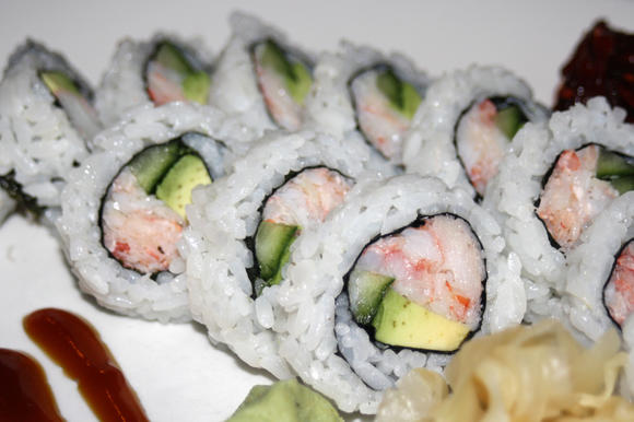 According to chef Tom Kaszubowski, the key to good sushi is quality ingredients.