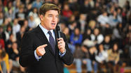 Kentucky Attorney General Jack Conway warned students at George Rogers Clark¿High School that they risk their lives and futures if they take medications not prescribed for them by a doctor.
