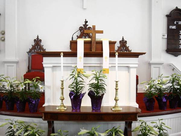 The Avon Congregational Church is offering several Holy Week services, under the leadership of Rev. Martha Chenault.