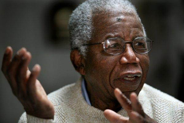 Chinua Achebe, Nigerian-born novelist and poet.