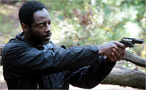 "Isaiah Washington in ""Blue Caprice."""
