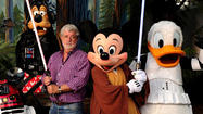 "Is the Walt Disney Co. considering adding a ""Star Wars""-themed land at one of its parks in Anaheim?"