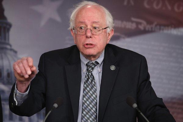 Sen. Bernie Sanders of Vermont introduces a bill to strengthen Social Security.