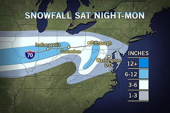 Accuweather snow map
