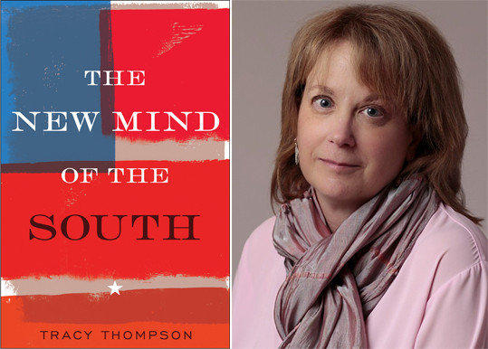 The cover of 'The New Mind of the South' and author Tracy Thompson.