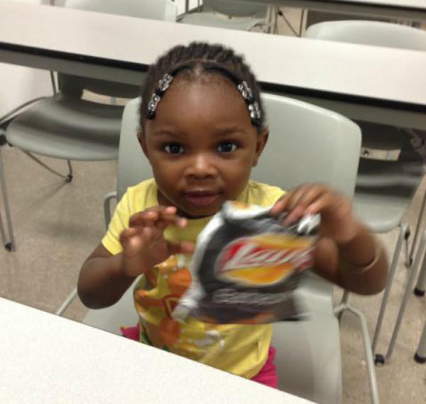 A little girl had been found wandering in Pompano Beach, but the Broward Sheriff's Office found her parents.