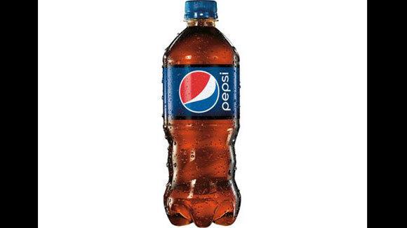Pepsi's new bottle has a wider, swirled bottom for easier grip.