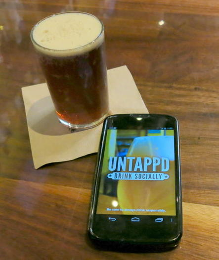 Is Untappd the Foursquare for beer drinkers?
