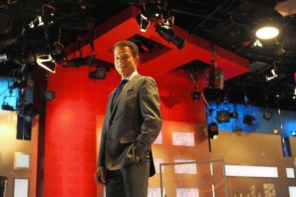 """Fox Report"" host Shepard Smith in his studio at Fox News in Manhattan, NY."