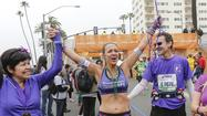 Julie Weiss of Santa Monica is indeed a Marathon Goddess.