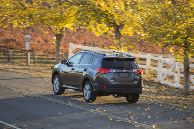 The RAV4's new six-speed automatic transmission replaces the antiquated four-speed gearbox, improving the vehicle's fuel economy.