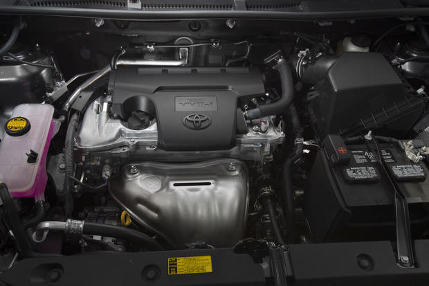 Under the hood is the same 2.5-liter four-cylinder engine from the outgoing model, now making 176 horsepower and 172 pound-feet of torque. An all-wheel-drive RAV4 will do zero to 60 mph in 9.1 seconds, according to Edmunds.com.