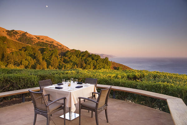 The Ventana Inn in Big Sur offers photographers stunning vistas of the Pacific Ocean.