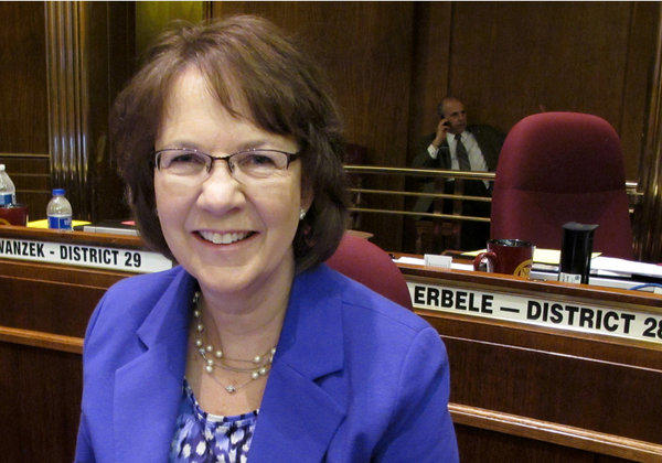 Republican state Sen. Margaret Sitte is the primary sponsor of a North Dakota referendum that would essentially ban abortion by defining human life as beginning at conception.