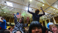 PICTURES: BECAHI holds pep rally for girls basketball team
