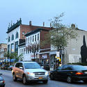 A view of the newly finished Baltimore Love Project mural from Eastern Avenue in Highlandtown