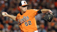 For three of the four innings he pitched Friday, right-hander <strong>Steve Johnson</strong> showed why he remains in consideration to be the Orioles' fifth starter.