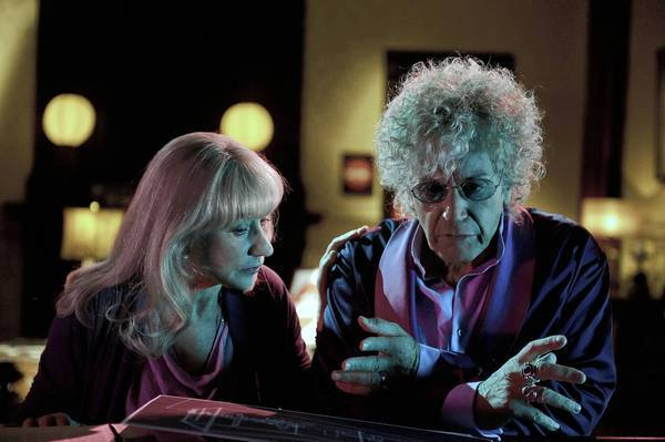"Helen Mirren and Al Pacino star in HBO's ""Phil Spector."""