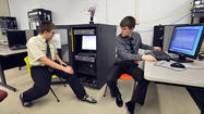 "Following in the footsteps of his grandfather whose life as a CIA agent was portrayed in the Academy Award winning film ""Argo,"" 17-year-old Phil McField proved how to crack online passwords in fewer than five minutes Friday at Washington County Technical High School's inaugural Cyber Security Awareness Day."