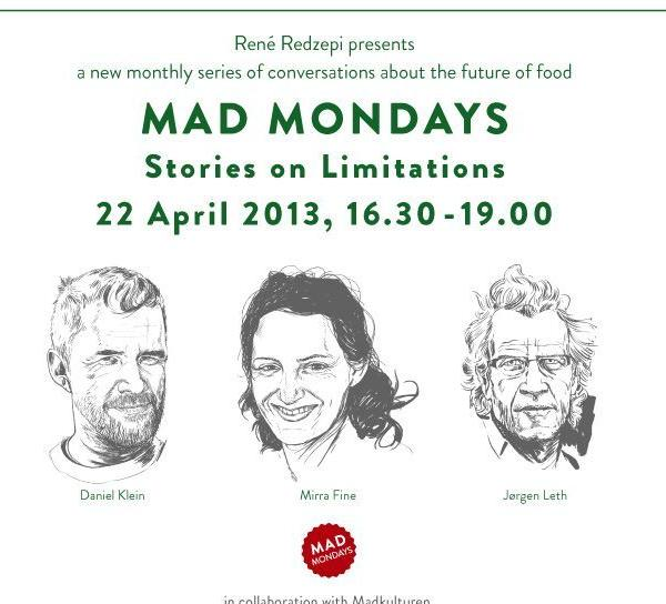 Rene Redzepi, chef of restaurant Noma in Copenhagen, hosts Mad Mondays.