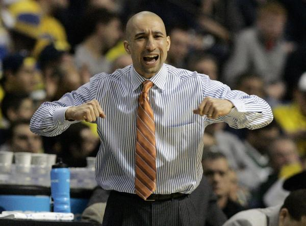 Shaka Smart's VCU Rams routed Akron on Thursday. (Rebecca Cook/Reuters photo)