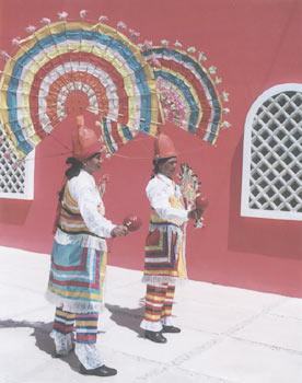 Sherry Levy of Apopka snapped this shot in Costa Maya, Mexico, when the cruise ship she was on paid a port call. The Mayan dancers were performing for vacationers.