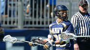 Navy owns an 11-4 advantage in this Patriot League series, and the Midshipmen have won three of the last four meetings. No. 16 Colgate (6-2 overall and 1-0 in the conference) has won three consecutive games since dropping back-to-back contests to No. 2 Cornell on March 2 and Hobart three days later. The Raiders are averaging 10.9 goals per game this season and headlined by senior attackman and 2012 Tewaaraton Award winner Peter Baum. Navy (3-5, 1-2) has dropped its last two outings and has averaged just 6.2 goals in those five losses. Junior attackman Tucker Hull, who led the team in goals (23), assists (24) and points (47) last year, is third in goals (nine) and points (15) so far. Here are a few factors that could influence the outcome at M&T Bank Stadium in Baltimore Saturday.