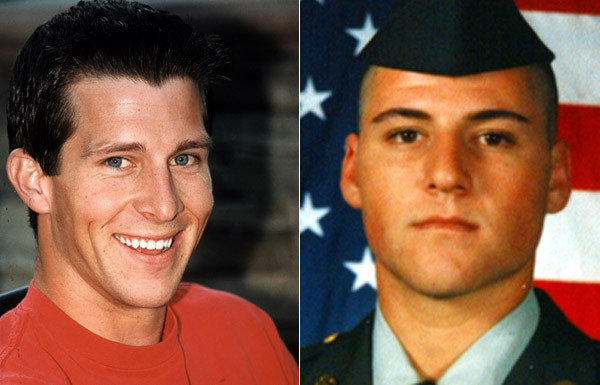 Army Spc. Trevor A. Win'E, left, was killed in Iraq in 2004. Army Spc. Justin W. Pollard, right, was killed in Iraq in 2003.