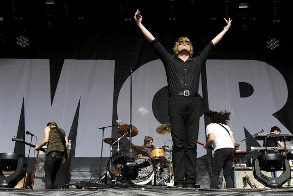 My Chemical Romance performs in Melbourne