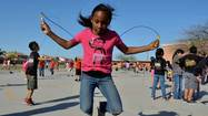 IMPERIAL — Nearly 800 students at T.L. Waggoner Elementary School took a break from their lessons Friday morning to jump rope, spin hula hoops and burn some energy for the annual Jump Rope for Heart event.