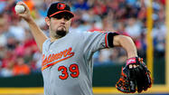 SARASOTA, Fla. –  Orioles pitchers Jason Hammel and Tommy Hunter threw in separate minor league games Friday at Twin Lakes Park to get their work in, but the free-swinging Tampa Bay Rays Class-A hitters they faced didn't help.