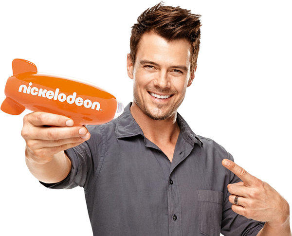 Josh Duhamel is hosting the Kids Choice Awards.