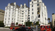 """Twlight Saga"" star Ashley Greene's West Hollywood condominium was gutted in a fire Friday morning."