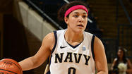 Track star Alix Membreno has been crucial to Navy's basketball success