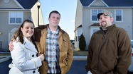 New homeowner Steven Mazur and his new neighbors, Jesse McAllister and fiancé Heather Kurtz, are full of hope about their lives in the housing development on Hagerstown's western edge.