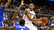 AUBURN HILLS, Mich. -- Michigan State is into the round of 16 for the NCAA tournament — as usual.