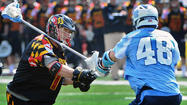 No. 10 UNC upsets No. 1 Maryland, 10-8, in men's lacrosse