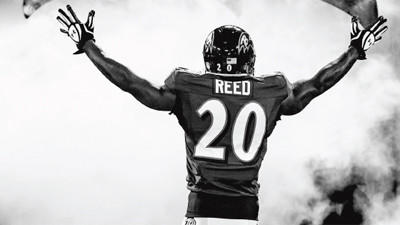 Ed Reed's full-page ad in Sunday's edition of The Baltimore Sun