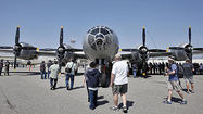 Photo Gallery: Aviation buffs tour B-29 Superfortress Fifi at Burbank airport