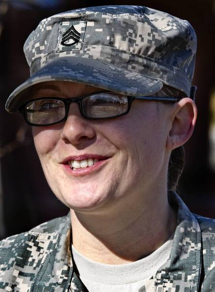 Staff Sgt. Cassandra Partee said that when the Defense Department decided to lift the restrictions on women in combat earlier this year, she thought it was a bit anti-climactic to say the least.