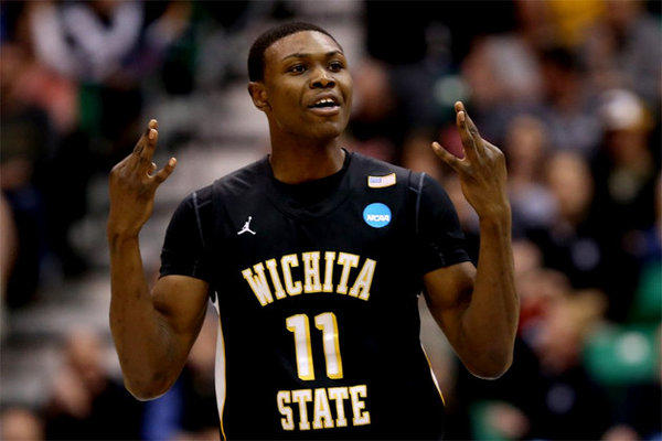Wichita State's Cleanthony Early hit 4-of-6 three-pointers against Gonzaga on Saturday.