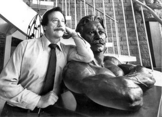 Joe Weider, shown in 1982, had a faith in the power of bodybuilding that he compared to a religious fervor.