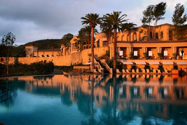 The Resort at Pelican Hill in Newport Beach, shown in 2008, made this year's list of five-star hotels from Forbes Travel Guide. Hotel owners vie for the Forbes distinction because it enables them to draw much higher rates.