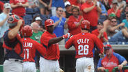 PICTURES: Philadelphia Phillies spring training.