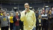 Wichita State arrived to a hero's welcome at Koch Arena Sunday, fresh off their win over Gonzaga sending the Shockers to the Sweet 16.