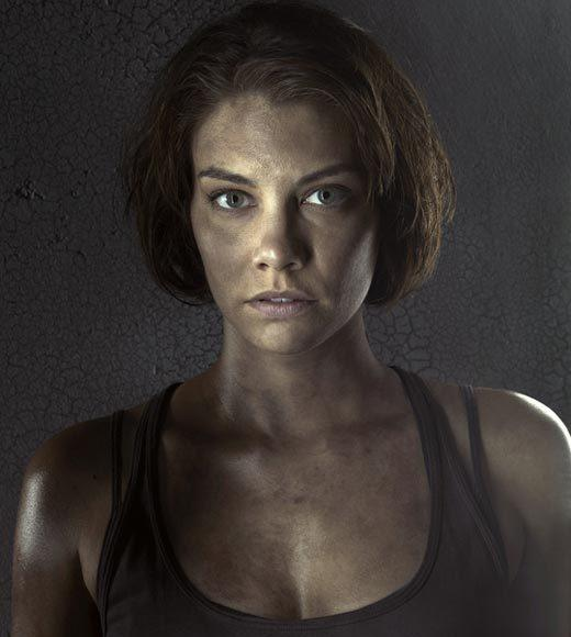 Badass Babes of TV and Movies: From 'Brave' to 'Game of Thrones': Rambunctious role: Cohan is kicking serious zombie butt as Maggie on The Walking Dead.   Rough Resume: Previously, Lauren was awesome vampire Rose on The Vampire Diaries, villain Vivian Volkoff on Chuck and Supernatural capitalist Bela Talbot.