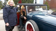 MEYERSDALE — John and Corinne Babson of Pittsburgh remember a warmer car show back in 1971, the last time they entered the Pennsylvania Maple Festival's Antique Auto Show.