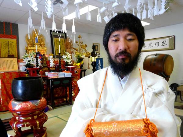 "The Rev. Douglas Kanai leads a new Buddhist temple in Las Vegas. To prove his worth, he withstood an ancient ""100 days"" ritual of pain and deprivation in Japan -- the first American-born recruit to do so."