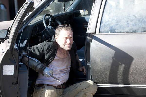 Merle (Michael Rooker) launches a desperate plan.